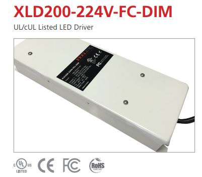 XLD200 Constant Voltage Dimming LED Driver